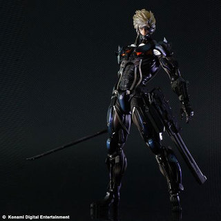 konami, PS3, SQUARE ENIX, Play Arts, Kai, Metal Gear, Rising, Revengeance, Raiden, Action Figure