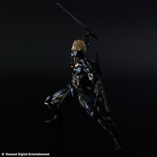 SQUARE ENIX Play Arts Kai Metal Gear Rising Revengeance Raiden Action Figure