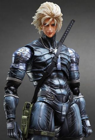 Square Enix Play Arts Kai Metal Gear Solid 2 Sons of Liberty Raiden Action Figure
