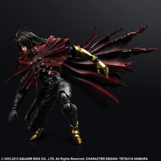 Square Enix Play Arts Kai Final Fantasy VII Advent Children Vincent Valentine Action Figure