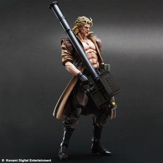 Square Enix Play Arts Kai Metal Gear Solid Liquid Snake Action Figure