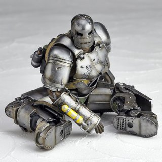 Kaiyodo Revoltech No.045 Iron Man Mark 1 Action Figure