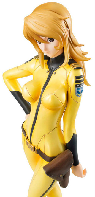 MegaHouse Yamato Girls Collection Space Battleship Yamato 2199 Yuki Mori (Ship Uniform Ver.) 1/8 Complete Figure