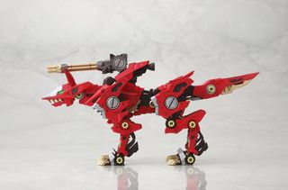 Kotobukiya HMM ZOIDS RZ-046 Fire Fox 1/72 Irisawa Limited Edition Plastic Model Kit