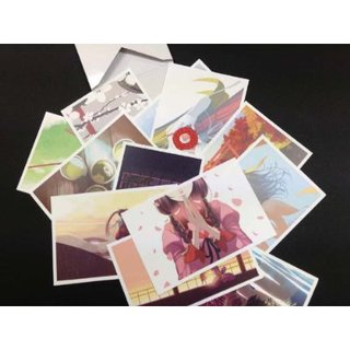 Nishio Ishin Koyomi Monogatari Full color postcard set