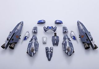 Bandai, Chogokin, VF-25G, Messiah, Valkyrie, Michael Blanc, anime, japan