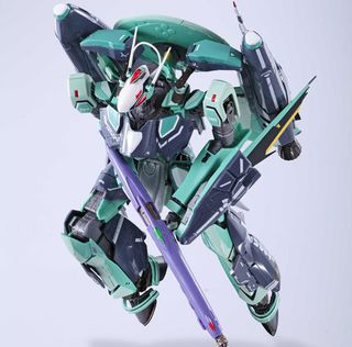 Bandai DX Chogokin RVF-25 Messiah Valkyrie (Luca Angelloni) Renewal Ver. Super Parts & Ghost set