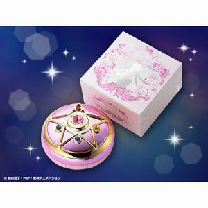 Bandai Sailor Moon R Crystal Star brooch Shining Moon Powder (Pressed Powder for adults)