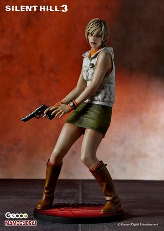 Konami, PS3, Silent Hill 3, Heather, 1/6 Scale, Statue, Gecco, Japan