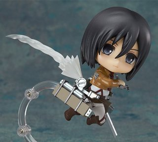 Good Smile Company Nendoroid Attack on Titan Mikasa Ackerman Action Figure