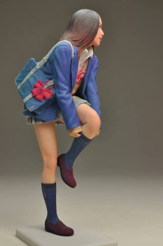 Japanese High Schooler Figure