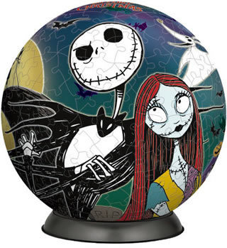 3d puzzle nightmare before christmas jack 240p - Nightmare Before Christmas 3d