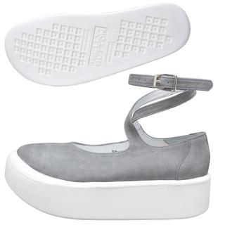 TOKYO BOPPER No.871 / Gray Nubuck ballerina shoes