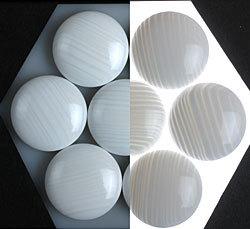 Clam Shell Stones - 雪 Snow -