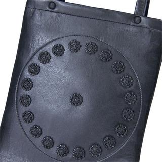 TOKYO BOPPER No.11110/Black bijou tote bag