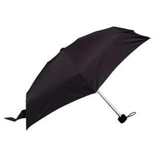 Totes Tiny Folding Umbrella (Black BK21230)