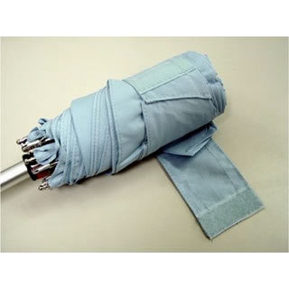 Totes Tiny Folding Umbrella (Sky Blue L/BL 21235)