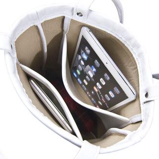TOKYO BOPPER No.11130/White hemisphere tote bag