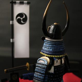 Samurai Armor Figure (Yamamoto Kansuke)