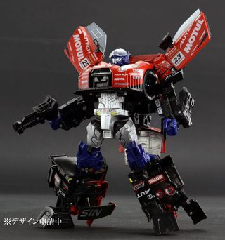 Takara Tomy Transformers GT GT-01 GT-R Optimus Prime (w/Race Queen) Action Figure