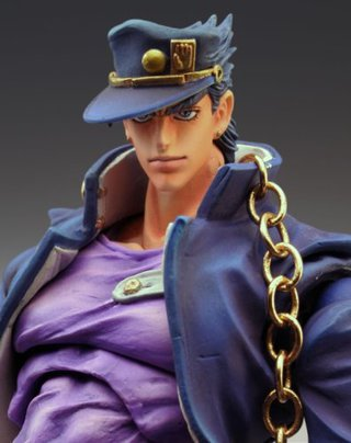 Medicos JoJo's Bizarre Adventure Jotaro Kujo Second Super Action Statue