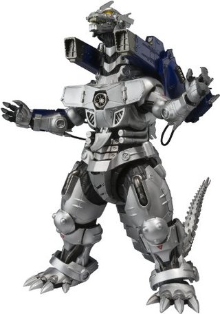 Bandai S.H.MonsterArts MFS-3 Type 3 Kiryu Mecha Godzilla Action Figure