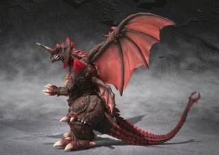 Bandai S.H. monster Arts Destoroyah Perfect body vs Godzilla Action Figure