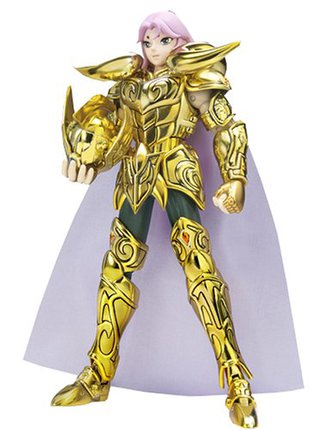 Saint Seiya - Aries Mu Gold Cloth Myth Action Figure