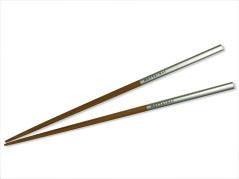 MOTTAINAI Slimcolor Bamboo HASHI Chopsticks  (Silver) C08007-12