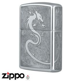 Dragon Zippo - Armor 162 Dragon - Mirror White