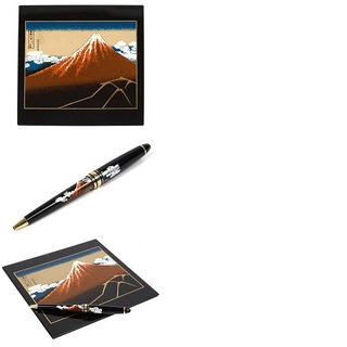 """A mouse pad oad Boll-point pen """"Rainstorm Beneath the Summit"""""""