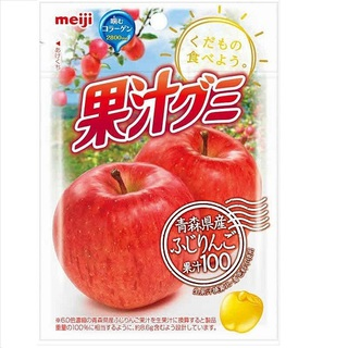 Meiji Juice gummy Apple 51g×10bags