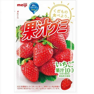 Meiji Juice gummy Strawberry 51g×10bags