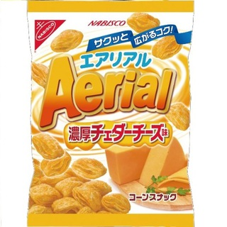 """Nabisco aerial"" Richness Cheese, 70g×10 bags."