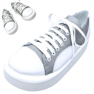 TOKYO BOPPER No.874 /  White & Gray shoes