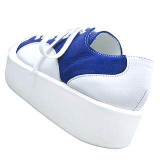 TOKYO BOPPER No.874 /  White & Blue shoes