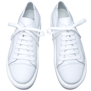 TOKYO BOPPER No.8704 / White leather sneaker