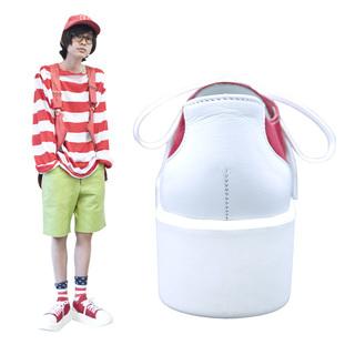 TOKYO BOPPER No.8704 / White & Red sneaker