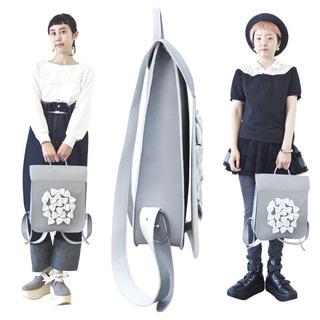 TOKYO BOPPER No.11150/Gray Ribbon Rucksack