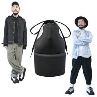 TOKYO BOPPER No.8704 / Black & White leather sneaker