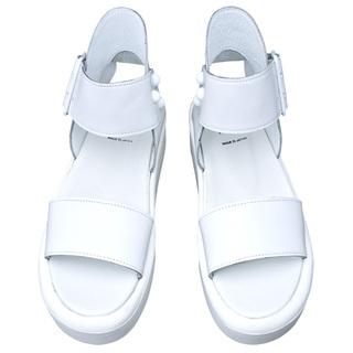 TOKYO BOPPER No.891 / White Platforms Sandal
