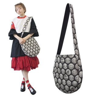 TOKYO BOPPER No.11180/Black BELLY BUTTON shoulder bag