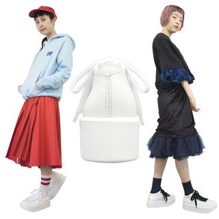 TOKYO BOPPER No.831 /  White Coating Camvas sneaker