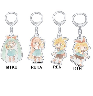 HATSUNE MIKU character key ring setー【chara colle】