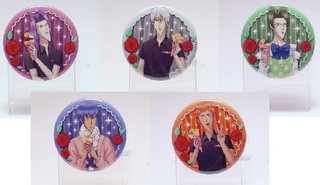 「GAKUEN HANDSOME」Can badge set