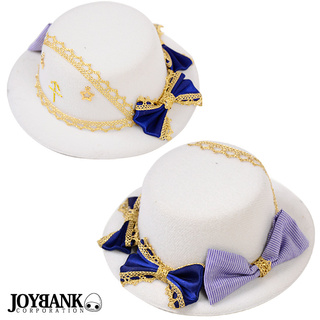 White marine mini hat 【White hat / hair accessory】