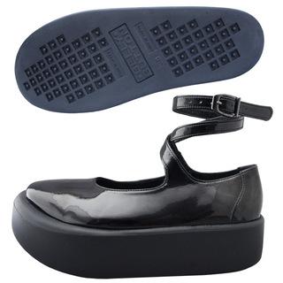 TOKYO BOPPER No.871 / Black Clarino Enamel Shoes