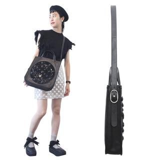 TOKYO BOPPER No.11131/ Real leather Galaxy bag / Black