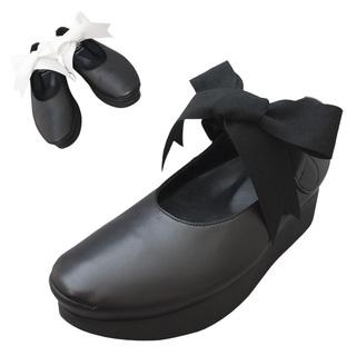 TOKYO BOPPER No.500 / Black Ribbon shoes