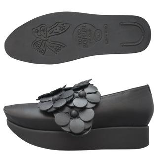 TOKYO BOPPER No.503 / Black Flowers shoes